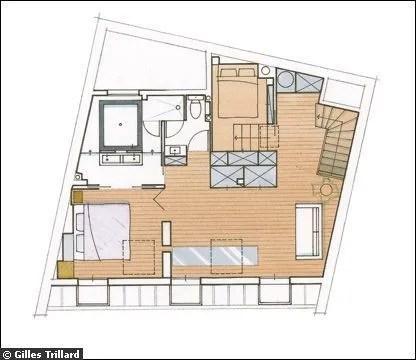 Plan Architecture Appartement 80m2 Duplex