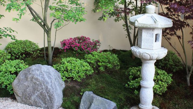 zen jardin et terrasse en toute