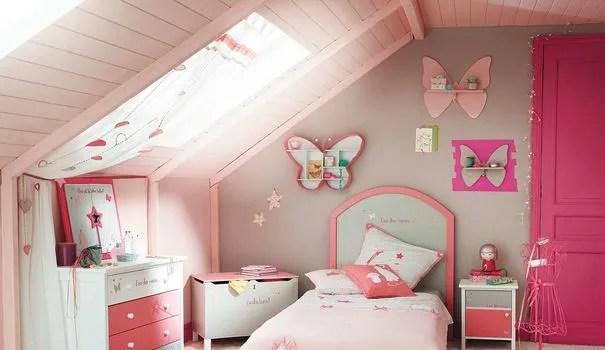 Rose Couleur Dco Peinture Rose Chambre Fille