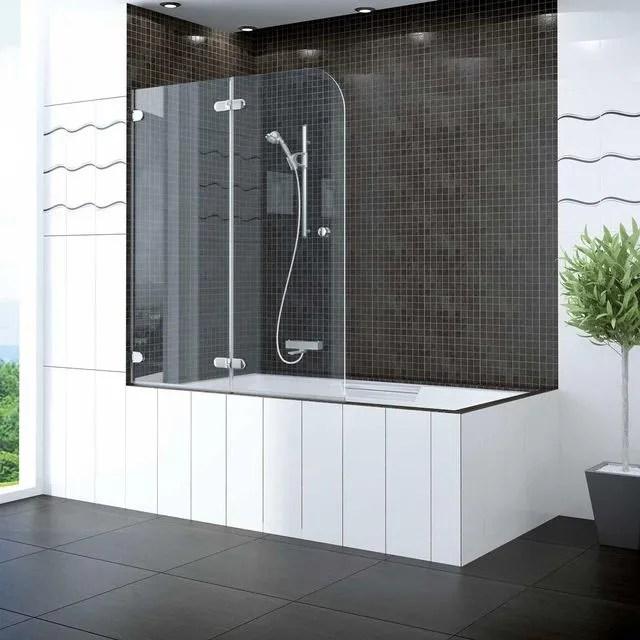 prendre une douche dans une baignoire