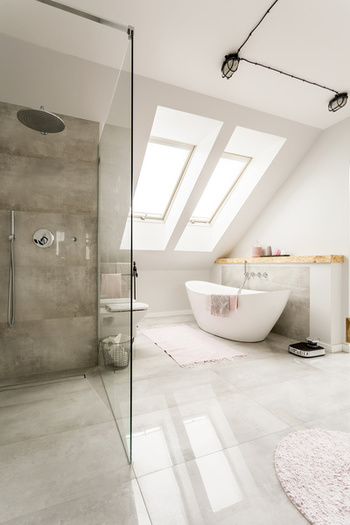 paroi en verre sur mesure pour la douche commande en ligne