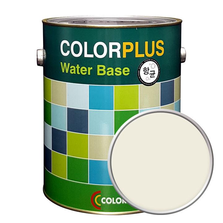 노루페인트 컬러플러스 페인트 4L, 릴리화이트