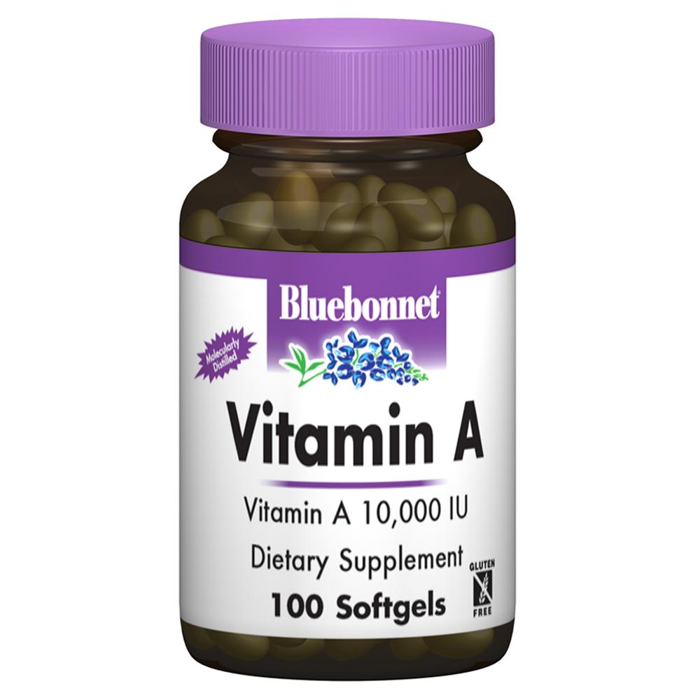 블루보넷 비타민 A 10000IU 소프트젤, 100개입, 1개