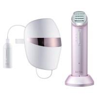 LG전자 프라엘  + 더마 LED 마스크 심화관리 패키지, BLJ1(Steel Pink) + BWJ1(Steel Pink) + 클렌징폼 + 차홍고데기, 1세트 (TOP 64882181)