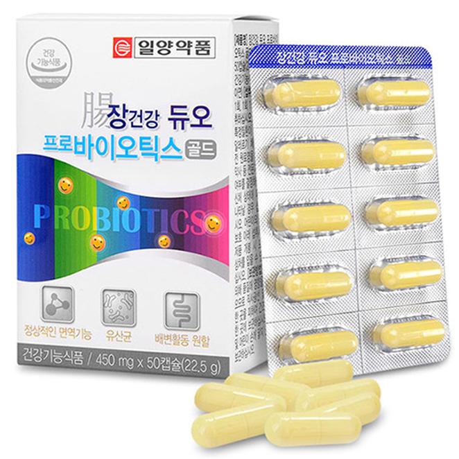일양약품 장건강 듀오 프로바이오틱스 골드, 22.5g, 1개