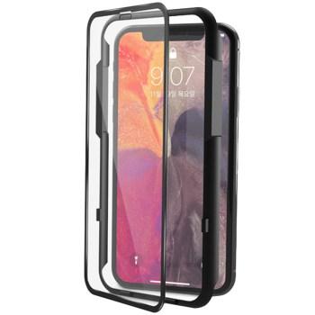 아이폰se2 강화유리 - 신지모루 풀커버 강화유리 3D 액정보호필름, 1개