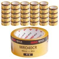 MRO 투명 박스테이프 48mm x 40m, 30개 (TOP 18225382)