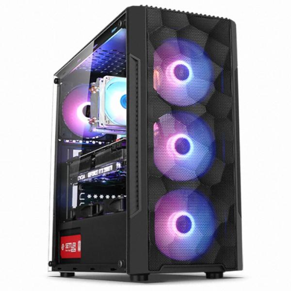 컴맹닷컴 고사양 게이밍 3D 그래픽 PC CMA37XC-288H(라이젠7 3700X RTX2080 SUPER 그래픽 RAM 16GB SSD 500GB WIN10), CMA37XC-288H, 기본형