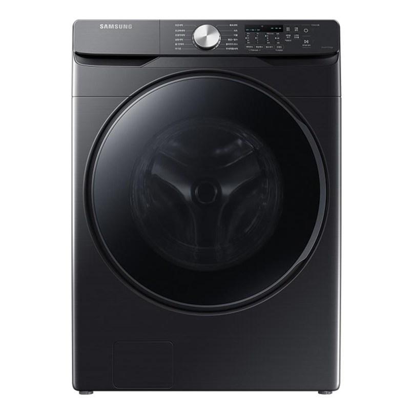 삼성전자 그랑데 드럼세탁기 WF21T6000KV 21kg 방문설치 블랙 케비어