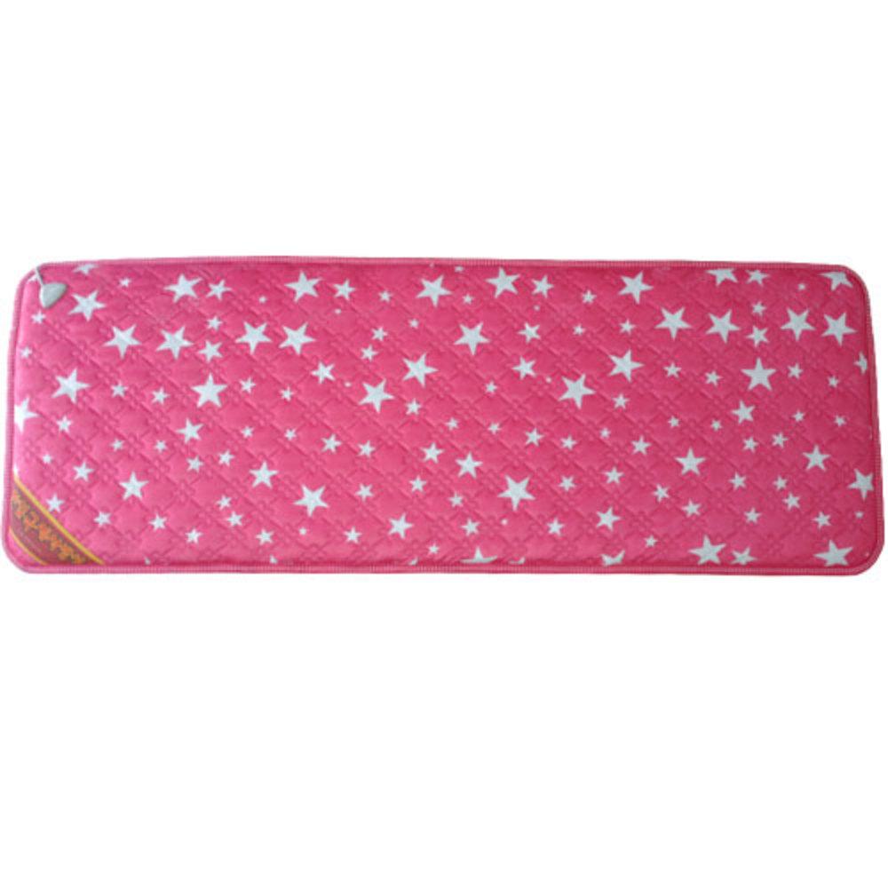 한일전기 전기방석 보관 케이스 + 별무늬 극세사 전기방석, 핑크, 쇼파용(50 x 138 cm)