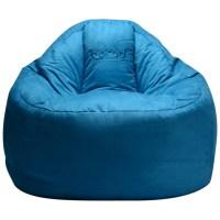 보니타 대형 빈백 블루밍 스웨이드 B807, 블루 (TOP 26977051)