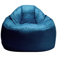 보니타 대형 빈백 블루밍 스웨이드 B807, 네이비 (TOP 26977051)