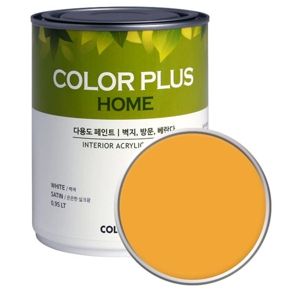 노루페인트 컬러플러스 홈 페인트 1L, 망고스틱 (SP6090)
