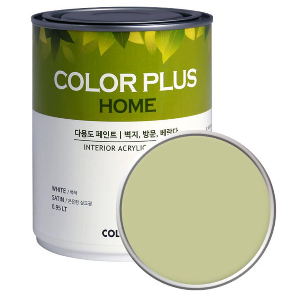노루페인트 컬러플러스 홈 페인트 1L, 인디아애플 (SP3150)