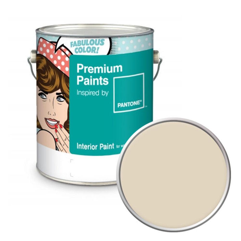노루페인트 팬톤 내부용 실내 벽면 무광 페인트 4L, 12-0304 Whitecap Gray