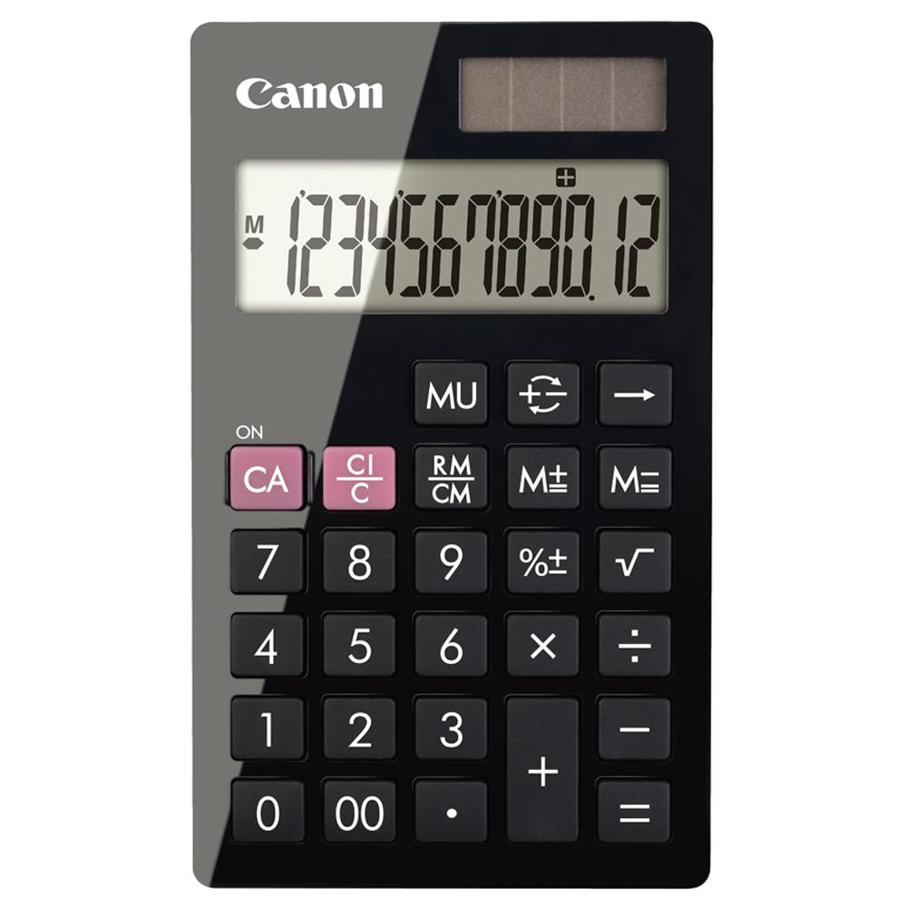 캐논 계산기 120 x 72 x 9.5 mm LS-12H, 블랙