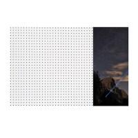 앤비커머스 인테리어타공판 레이저빔 우WHITE, 1개 (TOP 138603756)