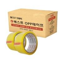 베스트 OPP 테이프 48mm x 40m, 투명, 30개입 (TOP 204318381)