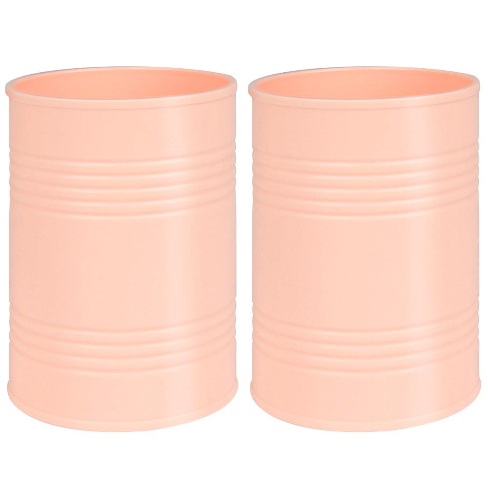 데어리즈 파스텔 원형 홀더, 핑크, 2개입