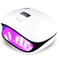 유키 썬 UV & LED 48와트 젤네일램프 하단패드 분리형, 화이트 + 블랙, 1개 (TOP 225991840)