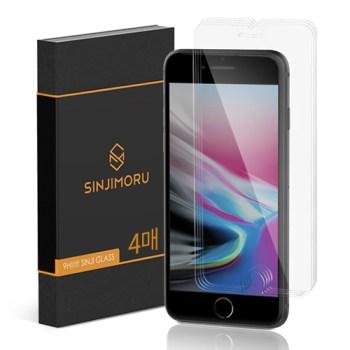 아이폰se2 강화유리 - 신지모루 2.5D 강화유리 휴대폰 액정보호필름, 4개