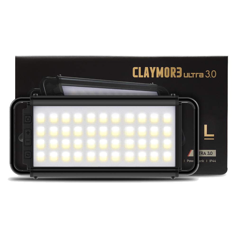 크레모아 울트라3.0 L LED캠핑랜턴 CLC-1900BK, 혼합색상, 1개