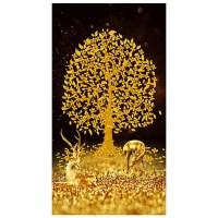 3D 보석십자수 50 x 90 cm, 황금노루금전수2 (TOP 1665468058)