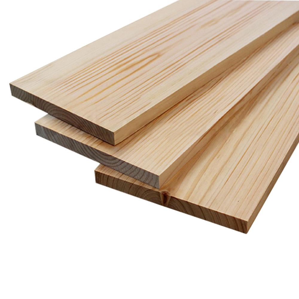 페인트인포 히노끼 목재 두께 25mm 140 x 1100 mm, 1개