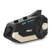 앱코 Tplex 카메라형 블랙박스 오토바이 바이크 헬멧 블루투스 헤드셋, 골드블랙 (TOP 4313861465)
