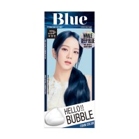 미쟝센 헬로 버블 염색제 4B, 웨일 딥 블루, 1개 (TOP 5375452104)