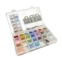 반지 팔찌 키링 만들기 악세사리부자재세트 C type, 혼합색상, 1세트 (POP 5080121860)