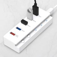 홈플래닛 5포트 USB3.0 유전원허브 (USB*4 + 전원*1) (POP 5122556863)