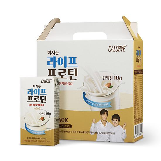 칼로바이 마시는 라이프 프로틴 단백질 음료, 200ml, 16개
