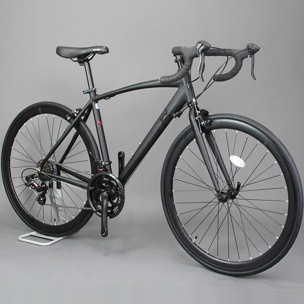 오투휠스 몬스터R 입문용 로드 자전거 알루미늄 700C, 반조립-택배배송, 화이트 - 490