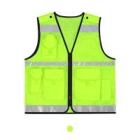 S500 고휘도 야광 반사조끼 안전조끼 야광조끼 형광조끼 산업안전복 야간작업복 (TOP 1137919116)