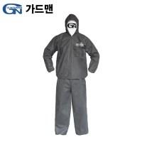 레이창고 가드맨 G-2작업복(SBW) 투피스XXL연회색 방진복 방역복 (TOP 5635929082)