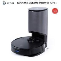 가성비 소형 흡입 로봇 자동 청소기 물걸레 2021 New ECOVACS Deebot T9 AIVI 자동 빈 스테이션 로봇 진공 청소기 3000Pa 흡입 고급 3D, DOCK 포함 T9 AIVI, AU (TOP 5614183901)