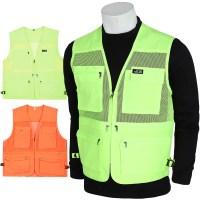 노블진 Q 노블포켓조끼 1+1 조끼 안전 형광 야간 청소 단체복 (TOP 5100294400)