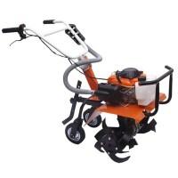 농업 정원 도구 가솔린 Minitype 로타리 경운기 야외 다기능 잔디 깎는 기계 4, 보여진 바와 같이 (TOP 5274906599)