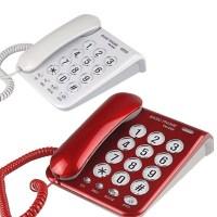 태경전자 TK-200 빅버튼 사무용 가정용 유선 키폰 집전화기 강력벨 유선전화기, TK-200 (화이트) (TOP 3305707)