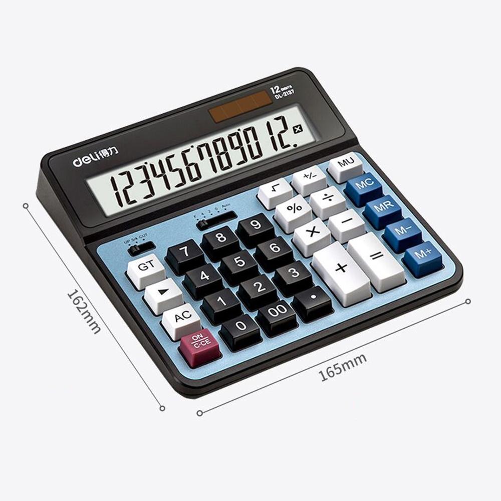모던 심플 부동산계산기 퍼센트 공인중개사 계산기 루트 금융 일반 전자 대형 12자리 표기 표시, 옵션2가로16.5cm라이트블루
