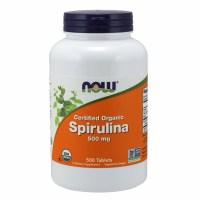 나우 (미국직배) 유기농 스피루리나 500정 Now Foods Organic Spirulina Tablets 500, 1개 (TOP 1377306087)