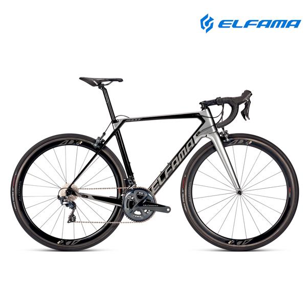 GIFT 로드자전거 2021년 엘파마 레이다 R8000S 울테그라 22단, 펄블랙실버 440