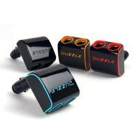 자동차 고급 방수 전기 3구 접이식 2구 USB시거잭 차량 자동차시거잭 퍼즐 세련된 멀티 용멀티 3IN1고속충, 블랙 (POP 5830540655)