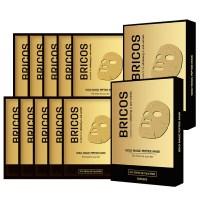 브리코스 골드매직 마스크팩 10매 (5매 x 2개), 1세트 (TOP 5649714573)