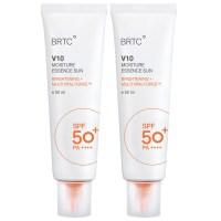 BRTC V10 UV 모이스처 에센스 선크림 50ml SPF50+ PA++++, 2개 (TOP 2373412758)