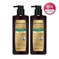 LG생활건강 닥터그루트 지성두피용 샴푸, 2개, 400ml (TOP 128470721)