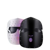 Kiboer LED 마스크 근적 외선 3컬러 여드름케어 피부진정 톤업 가정용 피부관리기 USB식충전 블랙+화이트, 블랙, Kiboer016 (TOP 338779182)
