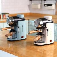 모즈 MOZ 가정용 에스프레소머신 커피머신 커피메이커 DR-800C 북유럽풍 아이보리 블루이쉬그린 색상선택 (TOP 1316004296)