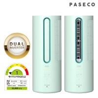 파세코 인버터 창문형 에어컨 시즌3 1등급 PWA-3300M 민트, 없음 (POP 5838501401)